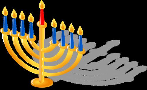 Jüdischer Kerzenleuchter